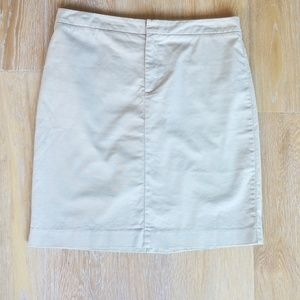 [Gap] Khaki Skirt Size 10